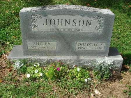 JOHNSON, DOROTHY E. - Fairfield County, Ohio   DOROTHY E. JOHNSON - Ohio Gravestone Photos