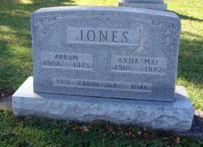 JONES, CAROL JANE - Fairfield County, Ohio   CAROL JANE JONES - Ohio Gravestone Photos