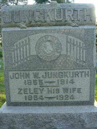 JUNGKURTH, ZELEY - Fairfield County, Ohio   ZELEY JUNGKURTH - Ohio Gravestone Photos