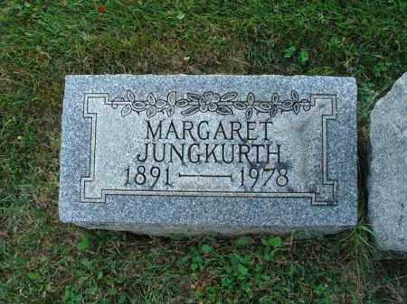 JUNGKURTH, MARGARET - Fairfield County, Ohio | MARGARET JUNGKURTH - Ohio Gravestone Photos