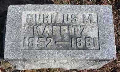 KAFFITZ, GURILUS M. - Fairfield County, Ohio   GURILUS M. KAFFITZ - Ohio Gravestone Photos