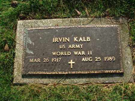KALB, IRVIN - Fairfield County, Ohio | IRVIN KALB - Ohio Gravestone Photos