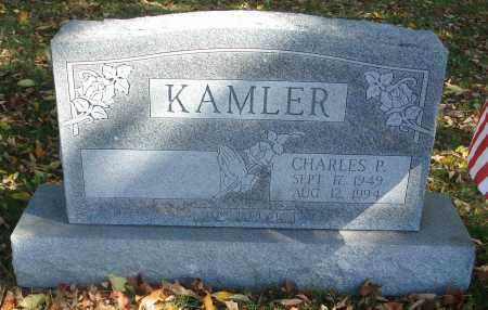 KAMLER, CHARLES P. - Fairfield County, Ohio   CHARLES P. KAMLER - Ohio Gravestone Photos