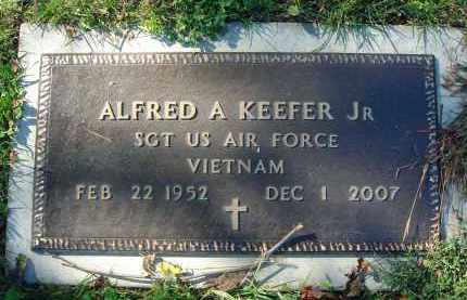 KEEFER, ALFRED A. - Fairfield County, Ohio   ALFRED A. KEEFER - Ohio Gravestone Photos