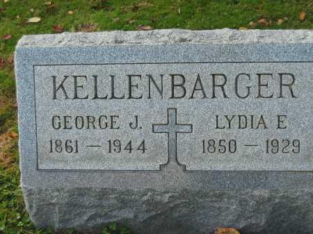 KELLENBARGER, GEORGE J. - Fairfield County, Ohio   GEORGE J. KELLENBARGER - Ohio Gravestone Photos