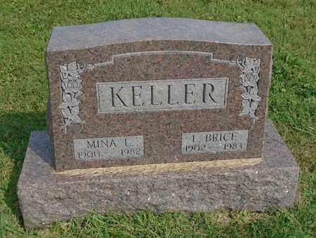 KELLER, L. BRICE - Fairfield County, Ohio | L. BRICE KELLER - Ohio Gravestone Photos