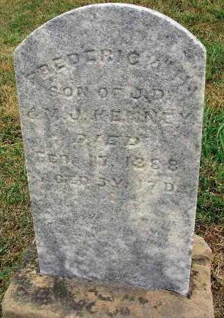 KENNEY, FREDERICK H. - Fairfield County, Ohio | FREDERICK H. KENNEY - Ohio Gravestone Photos