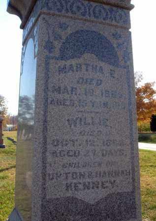 KENNEY, WILLIE - Fairfield County, Ohio | WILLIE KENNEY - Ohio Gravestone Photos