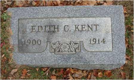 KENT, EDITH C. - Fairfield County, Ohio | EDITH C. KENT - Ohio Gravestone Photos