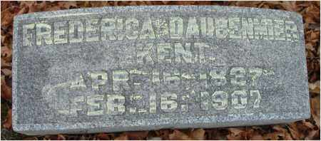 DAUBENMIER KENT, FREDERICA - Fairfield County, Ohio | FREDERICA DAUBENMIER KENT - Ohio Gravestone Photos