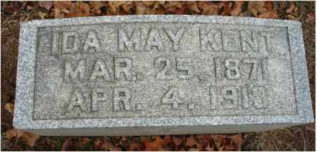 KENT, IDA MAY - Fairfield County, Ohio | IDA MAY KENT - Ohio Gravestone Photos