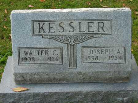 KESSLER, WALTER C. - Fairfield County, Ohio | WALTER C. KESSLER - Ohio Gravestone Photos