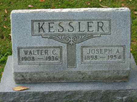KESSLER, WALTER C. - Fairfield County, Ohio | WALTER C. KESSLER - Ohio Gravestone Photos