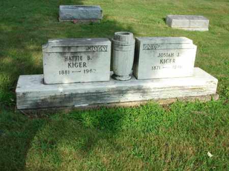 KIGER, JOSIAH J. - Fairfield County, Ohio   JOSIAH J. KIGER - Ohio Gravestone Photos