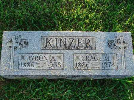 KINZER, GRACE M. - Fairfield County, Ohio   GRACE M. KINZER - Ohio Gravestone Photos