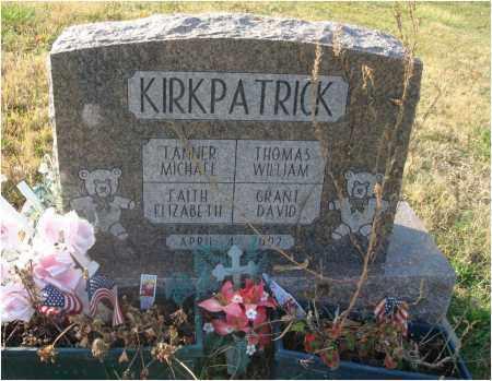 KIRKPATRICK, FAITH ELIZABETH - Fairfield County, Ohio | FAITH ELIZABETH KIRKPATRICK - Ohio Gravestone Photos