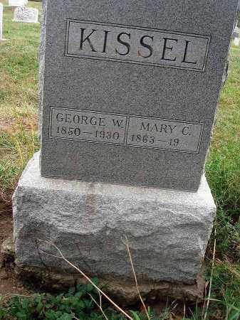 KISSEL, GEORGE W. - Fairfield County, Ohio | GEORGE W. KISSEL - Ohio Gravestone Photos