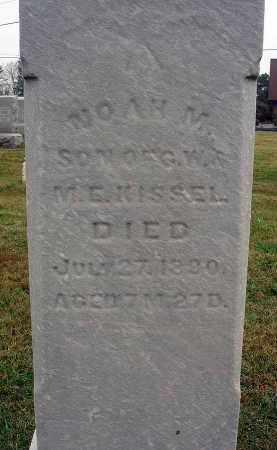 KISSEL, NOAH M. - Fairfield County, Ohio | NOAH M. KISSEL - Ohio Gravestone Photos
