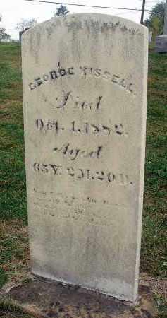 KISSELL, GEORGE - Fairfield County, Ohio   GEORGE KISSELL - Ohio Gravestone Photos