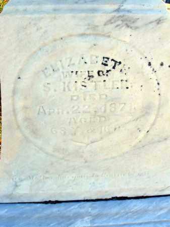 KING KISTLER, ELIZABETH - Fairfield County, Ohio | ELIZABETH KING KISTLER - Ohio Gravestone Photos