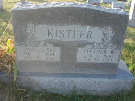 KISTLER, PAUL L. - Fairfield County, Ohio | PAUL L. KISTLER - Ohio Gravestone Photos