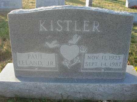 KISTLER, PAUL LELAND - Fairfield County, Ohio | PAUL LELAND KISTLER - Ohio Gravestone Photos