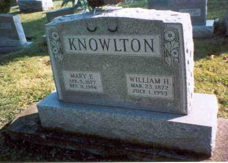 BOBO KNOWLTON, MARY E - Fairfield County, Ohio | MARY E BOBO KNOWLTON - Ohio Gravestone Photos