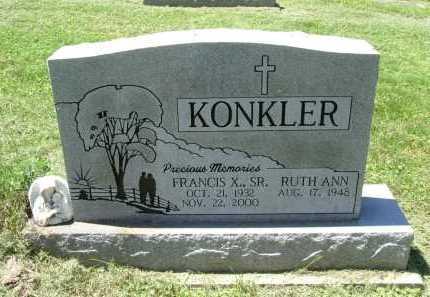 KONKLER, RUTH ANN - Fairfield County, Ohio   RUTH ANN KONKLER - Ohio Gravestone Photos