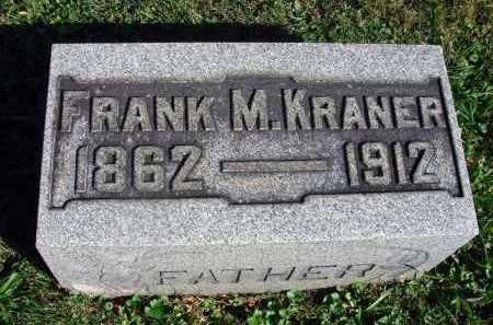 KRANER, FRANK M. - Fairfield County, Ohio   FRANK M. KRANER - Ohio Gravestone Photos