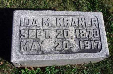 KRANER, IDA M. - Fairfield County, Ohio   IDA M. KRANER - Ohio Gravestone Photos