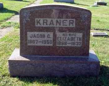 KRANER, ELIZABETH - Fairfield County, Ohio | ELIZABETH KRANER - Ohio Gravestone Photos