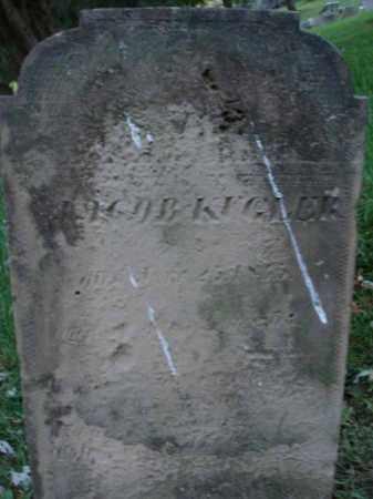 KUGLER, JACOB - Fairfield County, Ohio | JACOB KUGLER - Ohio Gravestone Photos