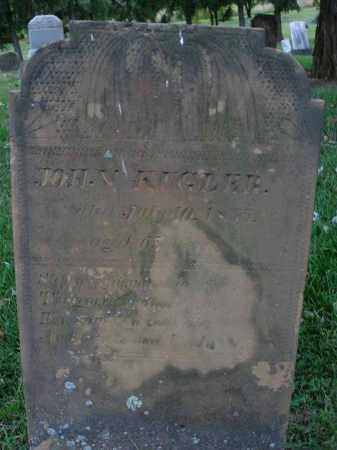 KUGLER, JOHN - Fairfield County, Ohio | JOHN KUGLER - Ohio Gravestone Photos