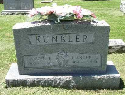 KUNKLER, JOSEPH L. - Fairfield County, Ohio | JOSEPH L. KUNKLER - Ohio Gravestone Photos