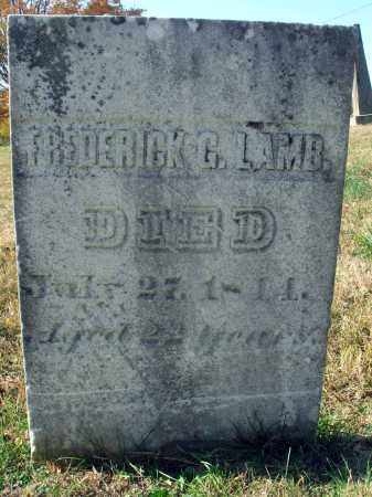 LAMB, FREDERICK G. - Fairfield County, Ohio | FREDERICK G. LAMB - Ohio Gravestone Photos