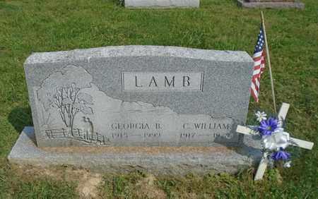 LAMB, C. WILLIAM - Fairfield County, Ohio   C. WILLIAM LAMB - Ohio Gravestone Photos