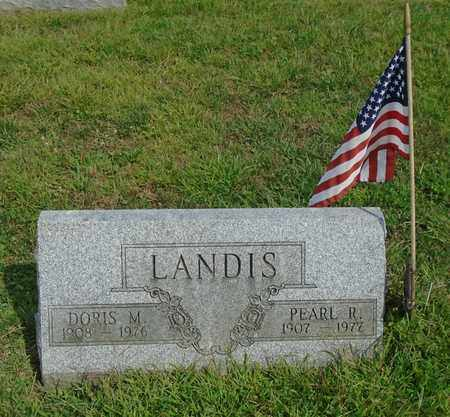 LANDIS, DORIS M. - Fairfield County, Ohio | DORIS M. LANDIS - Ohio Gravestone Photos