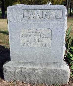 LANGEL, ELNORA - Fairfield County, Ohio | ELNORA LANGEL - Ohio Gravestone Photos