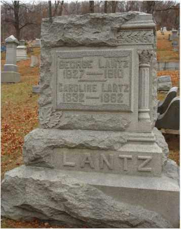 LANTZ, CAROLINE - Fairfield County, Ohio   CAROLINE LANTZ - Ohio Gravestone Photos