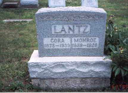 LANTZ, MONROE - Fairfield County, Ohio | MONROE LANTZ - Ohio Gravestone Photos