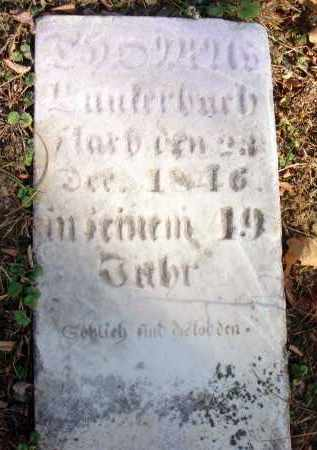 LAULERBURB?, THOMAS - Fairfield County, Ohio   THOMAS LAULERBURB? - Ohio Gravestone Photos