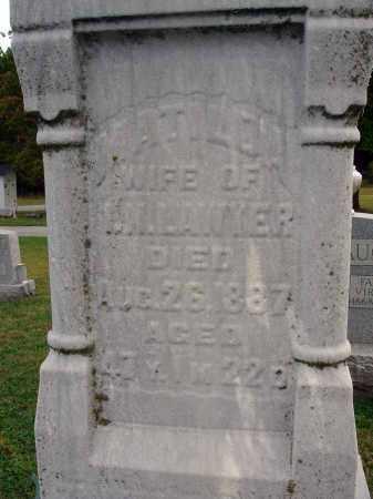 LAWYER, MATILDA - Fairfield County, Ohio | MATILDA LAWYER - Ohio Gravestone Photos