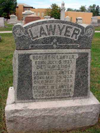 LAWYER, ROBERT H. - Fairfield County, Ohio | ROBERT H. LAWYER - Ohio Gravestone Photos