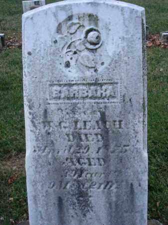 LEACH, BARBARA - Fairfield County, Ohio | BARBARA LEACH - Ohio Gravestone Photos