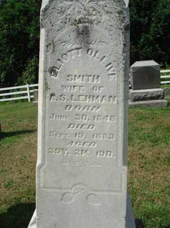 LEHMAN, ELIOTT OLLIVE - Fairfield County, Ohio   ELIOTT OLLIVE LEHMAN - Ohio Gravestone Photos