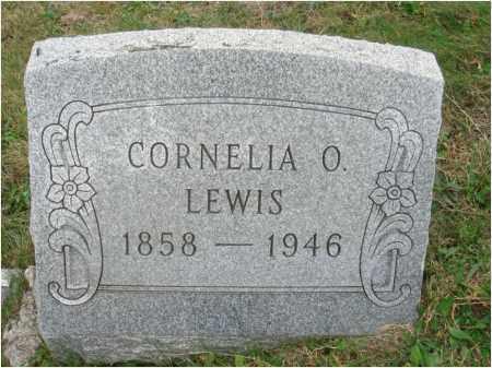 LEWIS, CORNELIA O. - Fairfield County, Ohio | CORNELIA O. LEWIS - Ohio Gravestone Photos