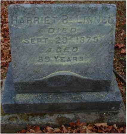 LINNEL, HARRIET B. - Fairfield County, Ohio | HARRIET B. LINNEL - Ohio Gravestone Photos