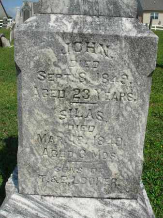 LOOKER, JOHN - Fairfield County, Ohio | JOHN LOOKER - Ohio Gravestone Photos