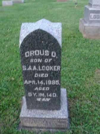 LOOKER, OROUS O. - Fairfield County, Ohio | OROUS O. LOOKER - Ohio Gravestone Photos