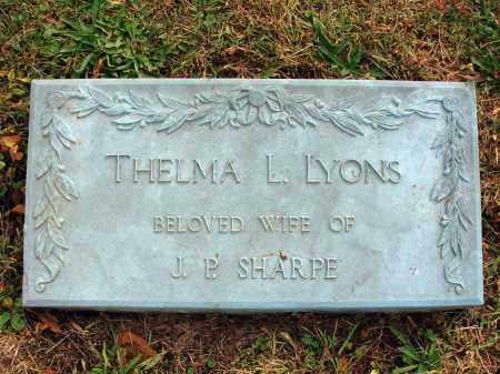 LYONS, THELMA L. - Fairfield County, Ohio   THELMA L. LYONS - Ohio Gravestone Photos